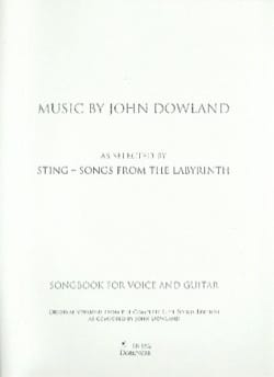 Songs from the Labyrinth DOWLAND Partition Guitare - laflutedepan