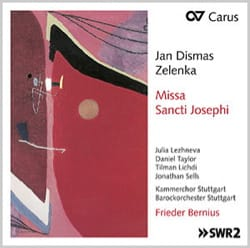 Jan Dismas Zelenka - Missa Sancti Josephi ZWV 14 - Accessory - di-arezzo.co.uk