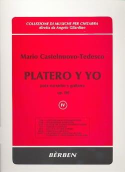 Platero Y Yo Op. 190. Volume 4 Mario Castelnuovo-Tedesco laflutedepan