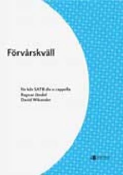 Förvarskväll - David Wikander - Partition - Chœur - laflutedepan.com