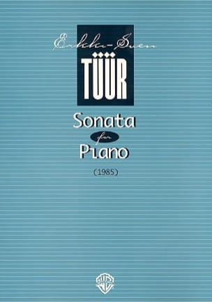 Sonata - Erkki-Sven Tüür - Partition - Piano - laflutedepan.com