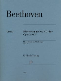 Sonate pour piano n° 3 en do majeur Opus 2-3 BEETHOVEN laflutedepan
