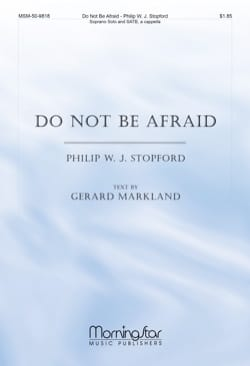 Philip W.J. Stopford - Do not be Afraid - Partition - di-arezzo.fr