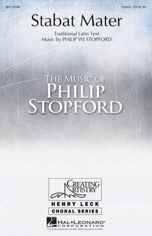 Stabat Mater Philip W.J. Stopford Partition Chœur - laflutedepan