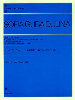 Sophia Gubaidulina - Musical Toys - Sheet Music - di-arezzo.co.uk