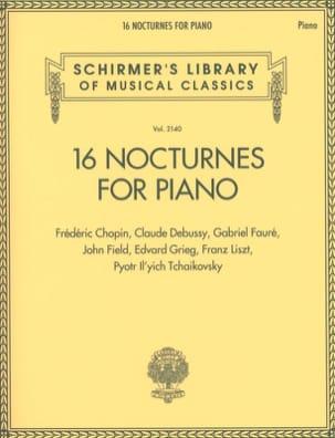 - 16 Nocturnes for Piano - Sheet Music - di-arezzo.com