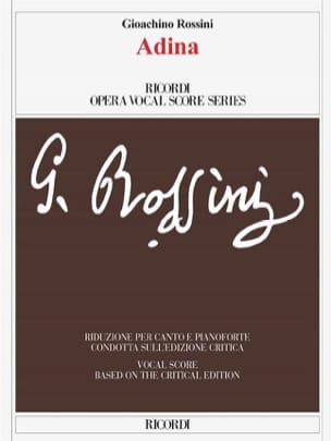 Gioachino Rossini - Adina - Sheet Music - di-arezzo.com