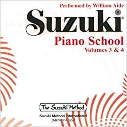 Suzuki - Suzuki Piano School vol.3 & 4 - Partition - di-arezzo.fr
