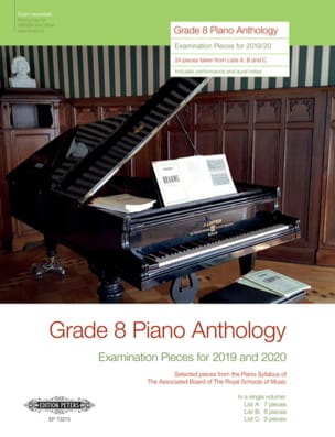 Piano Anthology Grade 8 Divers Partition Piano - laflutedepan