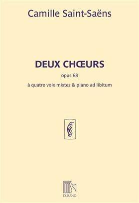 2 Choeurs SAINT-SAËNS Partition Chœur - laflutedepan