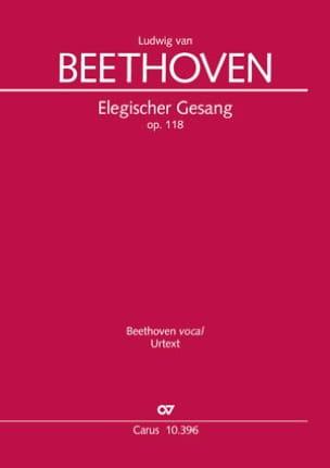 Ludwig van Beethoven - Elegischer Gesang Opus 118 - Sheet Music - di-arezzo.co.uk