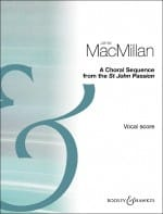 James MacMillan - A Choral sequence - Partition - di-arezzo.fr