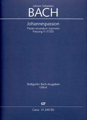 Passion selon Saint-Jean. Version 2 Johann Sebastian Bach laflutedepan