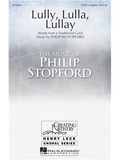 Philip W.J. Stopford - Lully, Lulla, Lullay - Sheet Music - di-arezzo.co.uk
