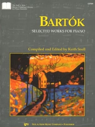BARTOK - Selected works - Partition - di-arezzo.fr