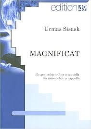Magnificat Urmas Sisask Partition Chœur - laflutedepan