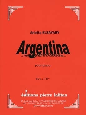 Arletta Elsayari - argentina - Sheet Music - di-arezzo.co.uk