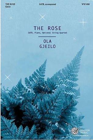 The Rose - Ola Gjeilo - Partition - Chœur - laflutedepan.com