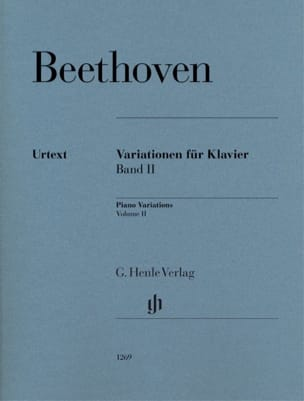 Ludwig van Beethoven - Variations For Piano Volume 2 - Sheet Music - di-arezzo.com