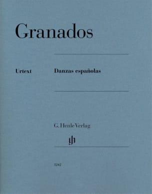 Danses Espagnoles GRANADOS Partition Piano - laflutedepan