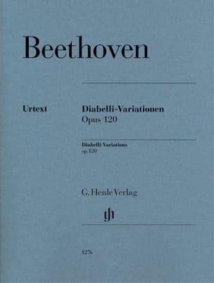 Variations Diabelli Ut majeur Opus 120 - BEETHOVEN - laflutedepan.com