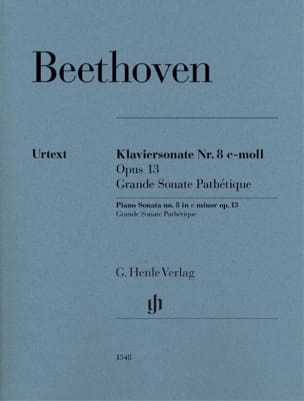 Ludwig van Beethoven - Piano Sonata No. 8 in C minor Opus 13 - Sheet Music - di-arezzo.co.uk