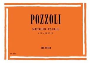 Ettore Pozzoli - Metodo facile - Partition - di-arezzo.fr