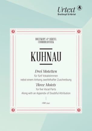 Johann Kuhnau - 3 Motetten - Noten - di-arezzo.de