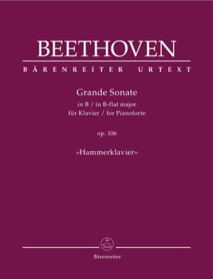 Sonate pour piano n° 29 en Si bémol majeur Op. 106 laflutedepan