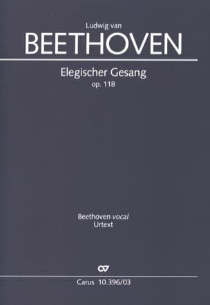 Ludwig van Beethoven - Elegischer Gesang Opus 118 - Sheet Music - di-arezzo.com