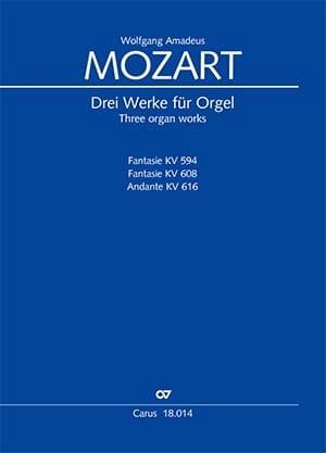 Drei Werke für Orgel - Wolfgang Amadeus Mozart - laflutedepan.com