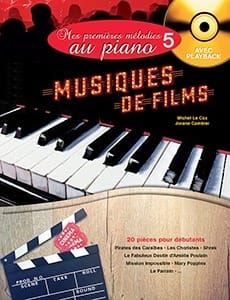 LECOZ / CAMBIER - My first piano melodies Volume 5 Soundtracks - Sheet Music - di-arezzo.com
