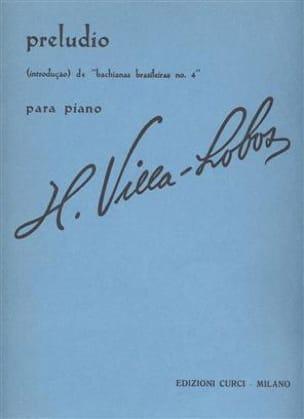 Heitor Villa-Lobos - Preludio - Sheet Music - di-arezzo.co.uk