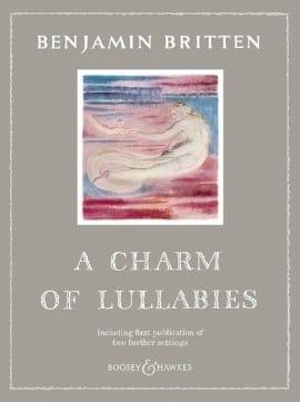 A Charm of Lullabies op.41 BRITTEN Partition Mélodies - laflutedepan