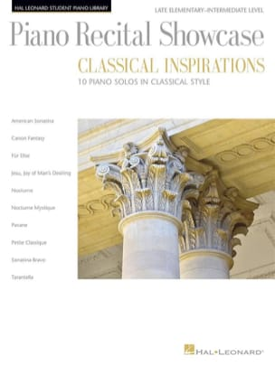 Piano Recital Showcase - Classical Inspirations - laflutedepan.com