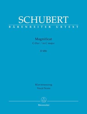 Magnificat en Do Majeur D 486 SCHUBERT Partition Chœur - laflutedepan