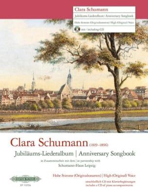 Jubiläums-Liederalbum. Voix Haute - Clara Schumann - laflutedepan.com