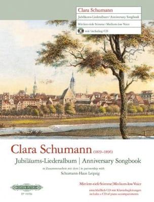 Jubiläums-Liederalbum. Voix Moyenne-Grave Clara Schumann laflutedepan