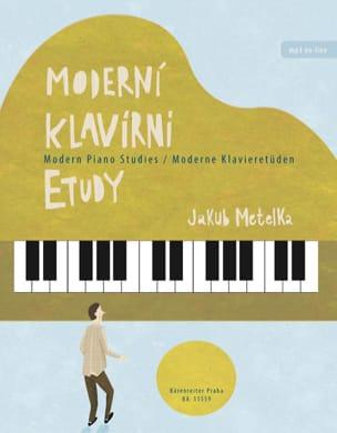 Jakub Metelka - Moderni Klavirni Etudy - Partition - di-arezzo.fr