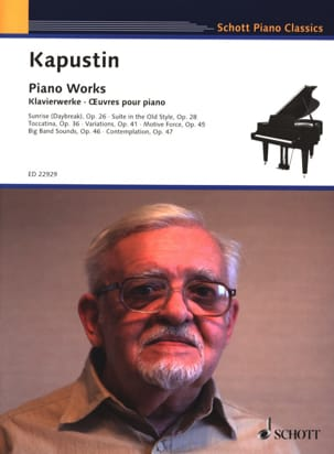 Nikolai Kapustin - Piano Works - Sheet Music - di-arezzo.com