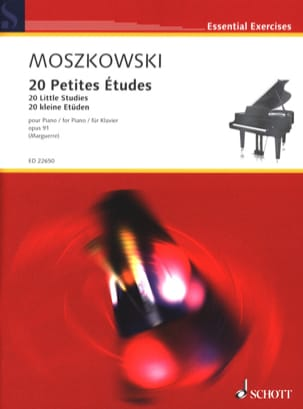 20 Petites Etudes Opus 91 Moritz Moszkowski Partition laflutedepan