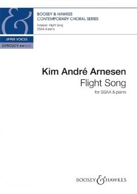 Flight Song. SA Kim André Arnesen Partition Chœur - laflutedepan