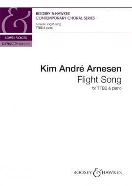 Flight Song. TB Kim André Arnesen Partition Chœur - laflutedepan