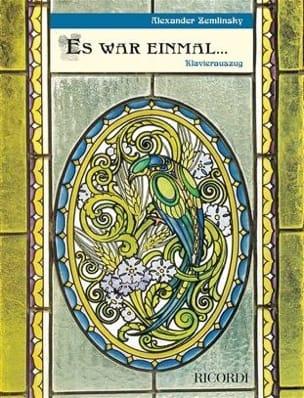 Alexander Zemlinsky - Es War Einmal - Sheet Music - di-arezzo.com