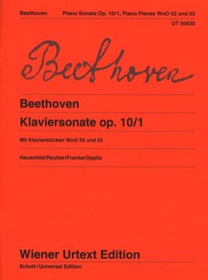 Sonate pour piano n° 5 en ut mineur Opus 10 N° 1 et autres pièces laflutedepan