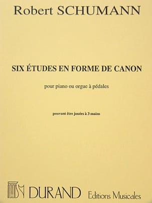 6 études en forme de canon opus 56 - laflutedepan.com