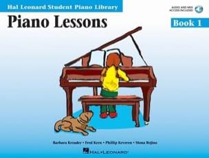 Piano Lessons Book 1 / Kern Jerome / kereven Kreader laflutedepan