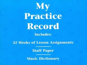 My Practice Record Divers Partition Piano - laflutedepan