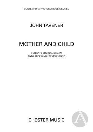 Mother and Child John Tavener Partition Chœur - laflutedepan