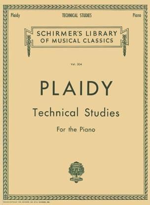 Louis Plaidy - Technical Studies - Sheet Music - di-arezzo.com